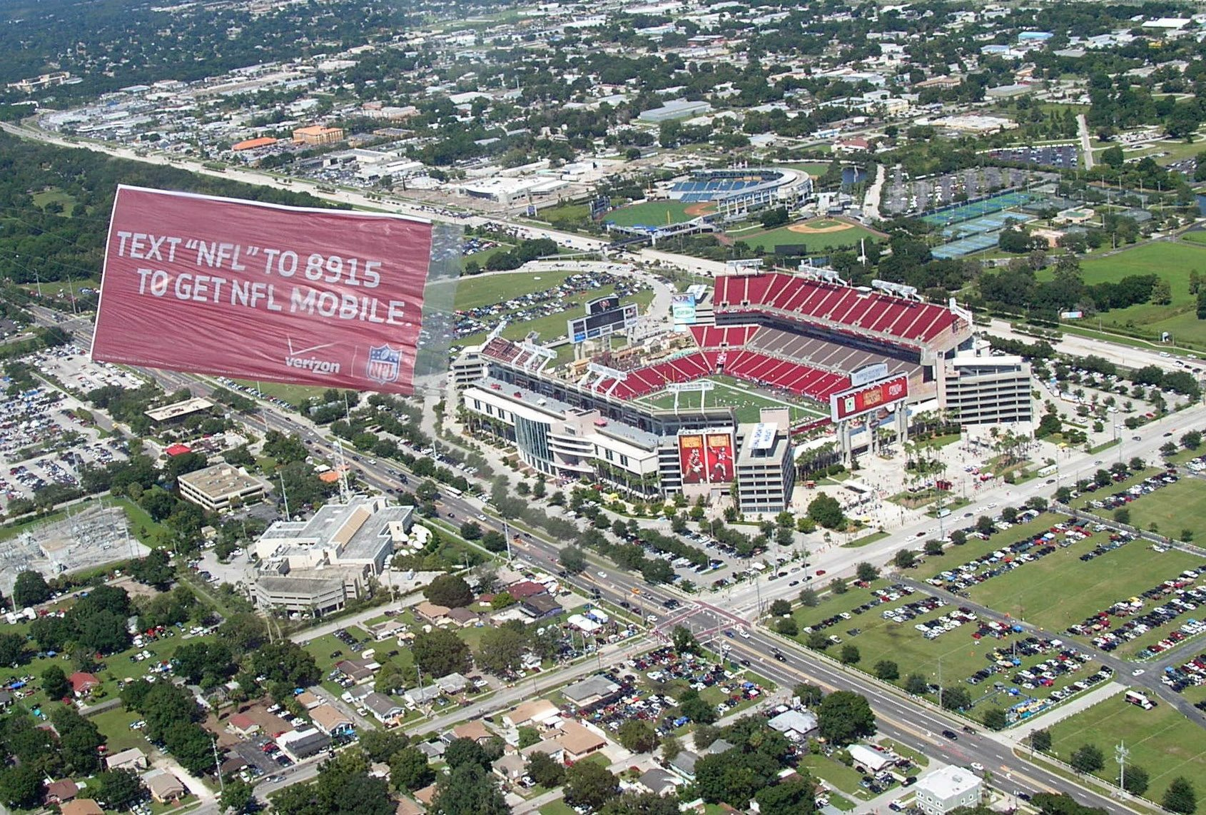 aerial ad NFL