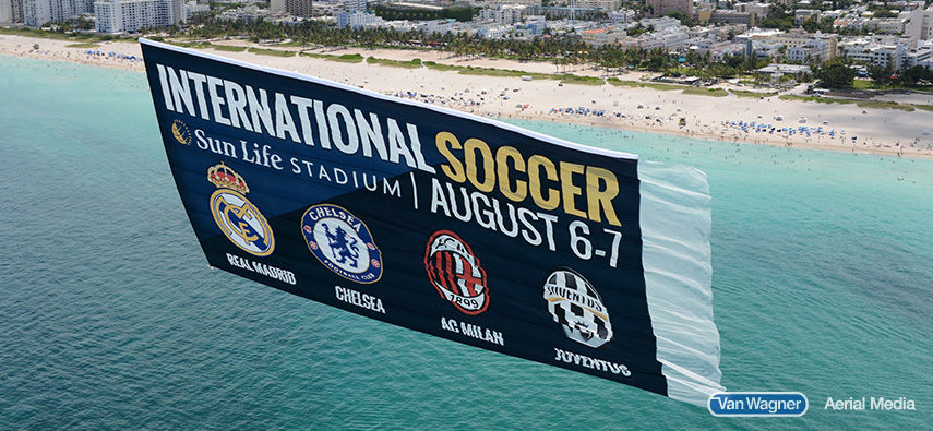 soccer mls aerial advertising