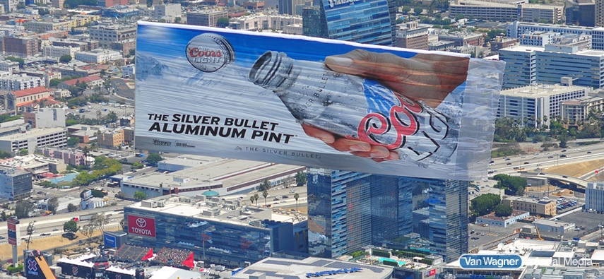 extreme sports aerial advertising
