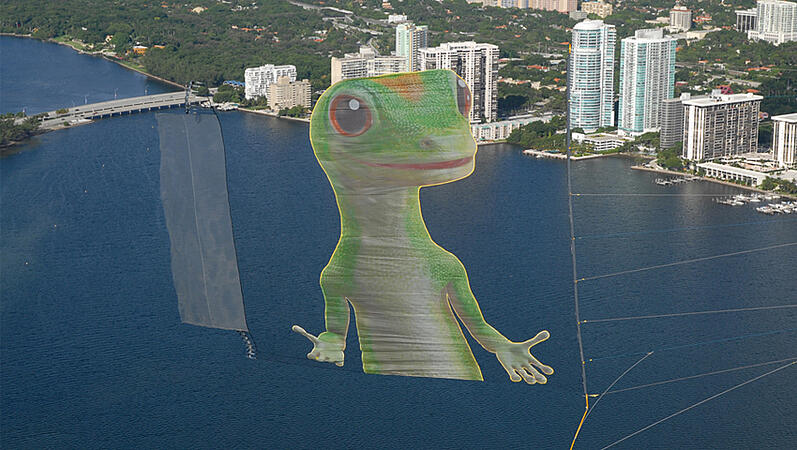 Gieco aerial advertising