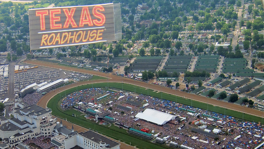 texas roadhouse aerial advertising
