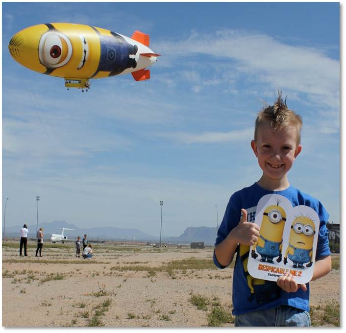 despicable me blimp