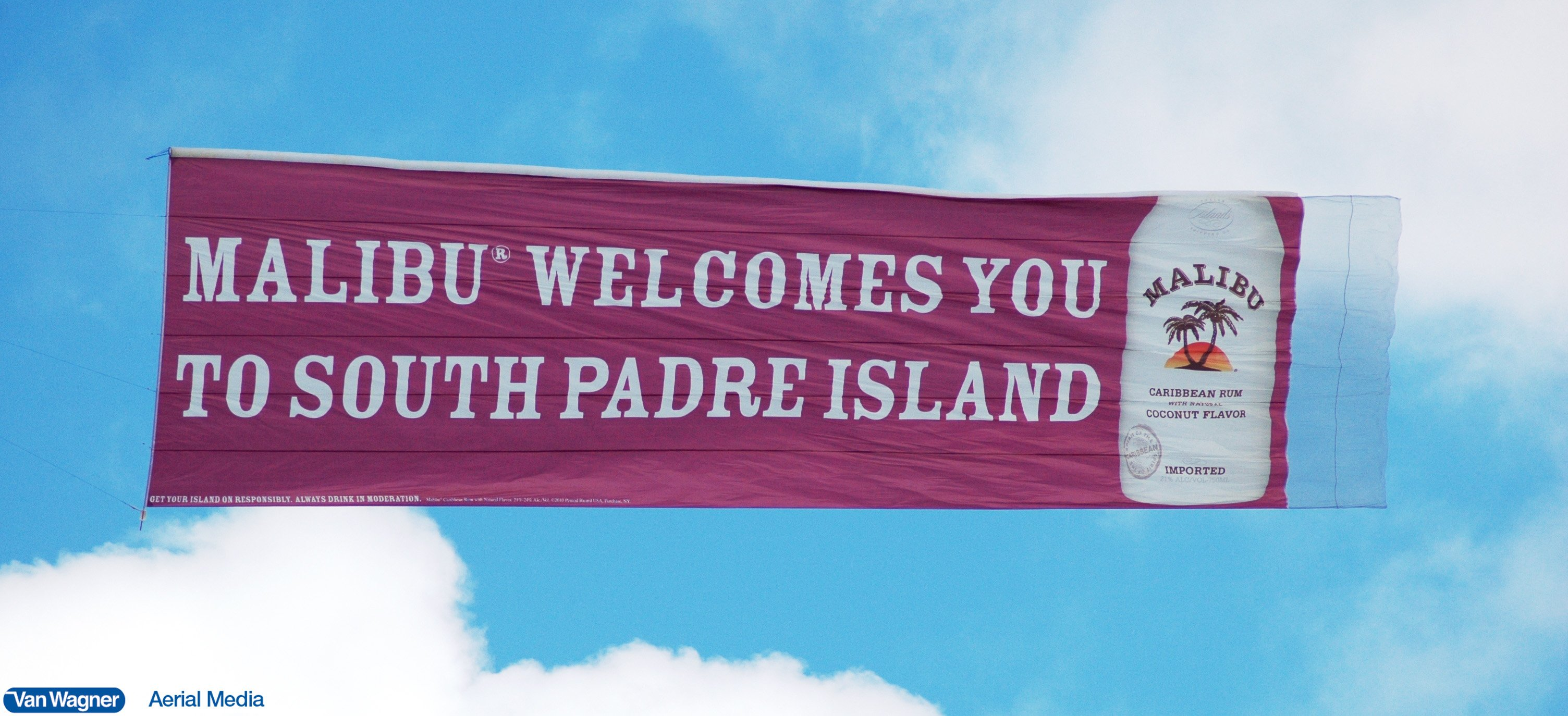 South Padre Island Aerial Advertising