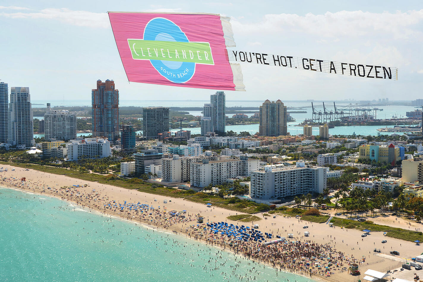 aerial banners miami