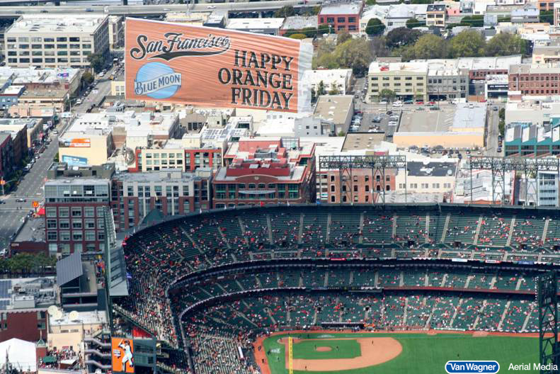 sporting events aerial advertising